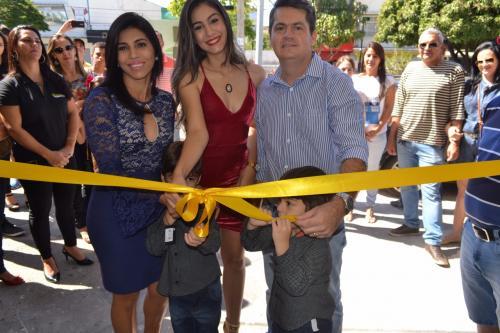 Inauguração da CRISTALUZ