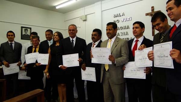 Diplomação dos Eleitos pela Justiça Eleitoral de Brumado