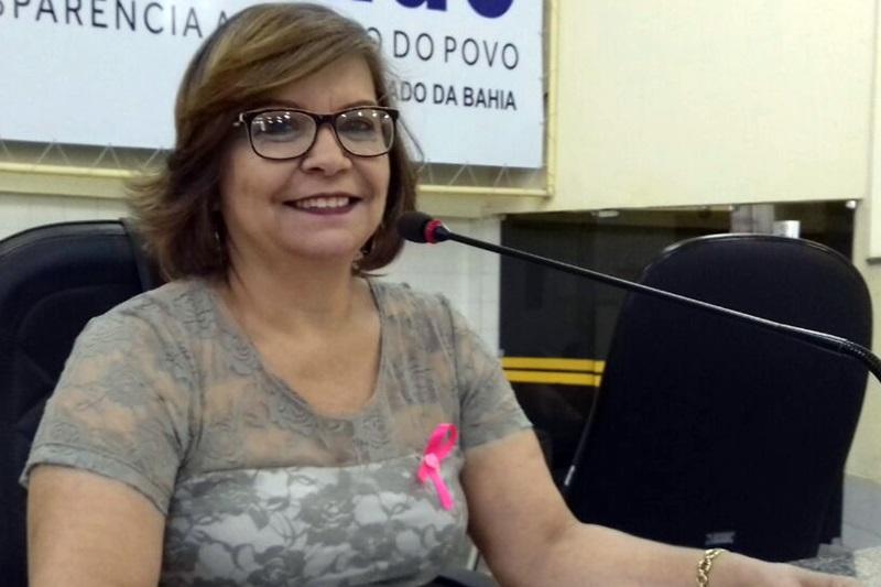 Vereadora Lia Teixeira: 'os enfermeiros da rede pública são fundamentais para o bom andamento da Saúde de Brumado'