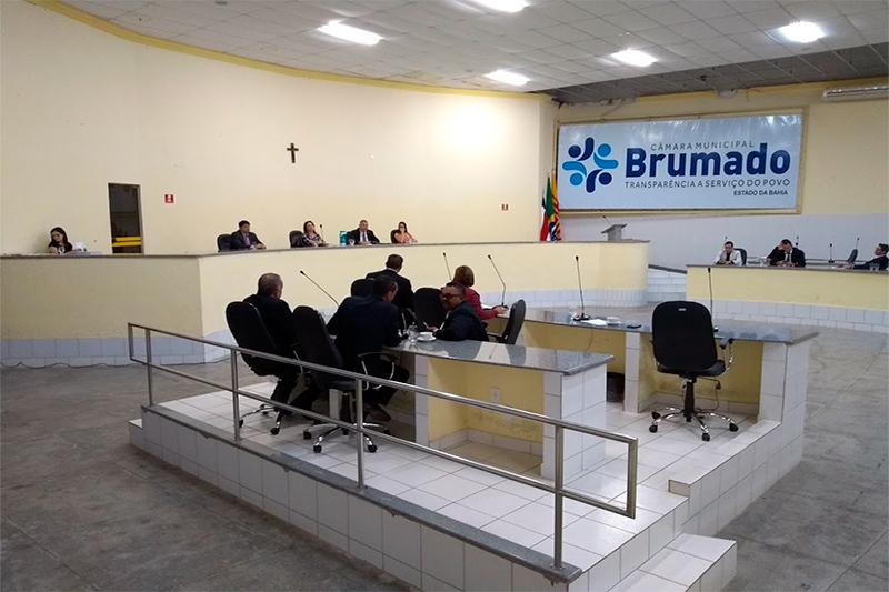 Eleição da mesa diretora da Câmara de Brumado acontece na Sessão Ordinária desta sexta-feira, 14