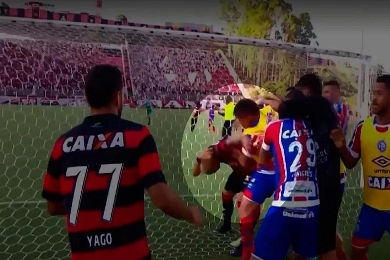 Polêmica: Kanu e Bryan denunciam jogadores do Bahia por agressão