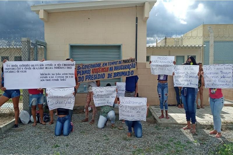 Familiares cobram de Rui Costa inauguração do presídio de Brumado, prevista para o fim de julho