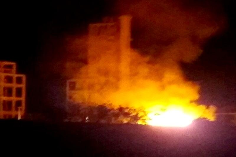 Ituaçu: Fábrica de cimento é incendiada após suposta `provocação´ de filho de empresário
