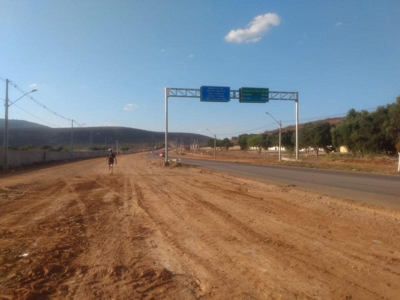 Brumado: Avenida Lindolfo Azevedo Brito será duplicação de 1 km e meio e terá ciclovia