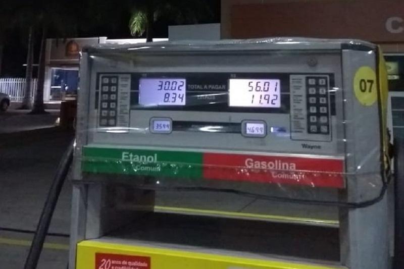Brumadenses prometem boicotar postos do centro e bastecer apenas em postos de combustíveis localizados em rodovias