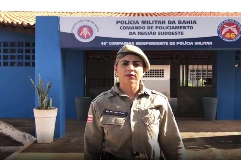 46ª CIPM inicia campanha contra a violência doméstica na região de Livramento de Nossa Senhora