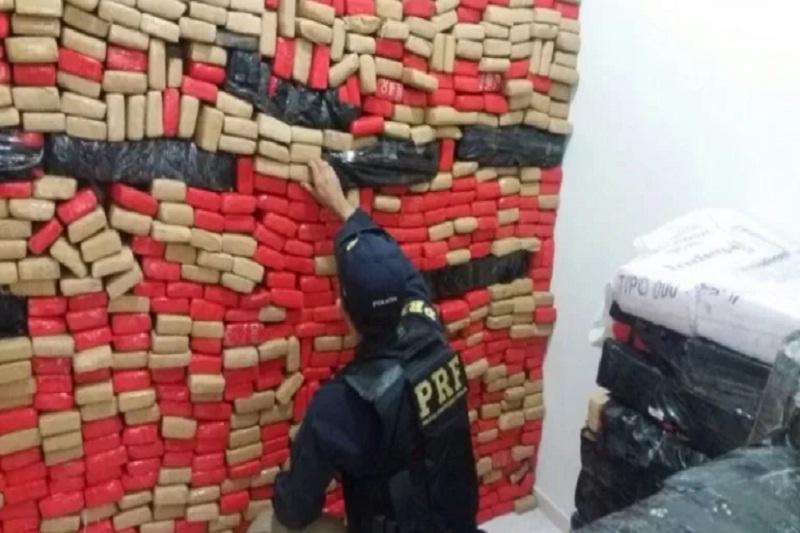 Bahia: Polícia Civil e PRF apreendem mais de 1,5 tonelada de maconha em Luis Eduardo Magalhães