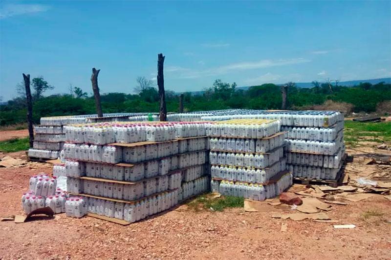 Ibotirama: Polícia apreende caminhão que carregava 25 mil litros de leite roubados
