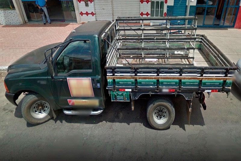 Veículo funcional de vidraçaria é furtado na madrugada de hoje (18) em Brumado