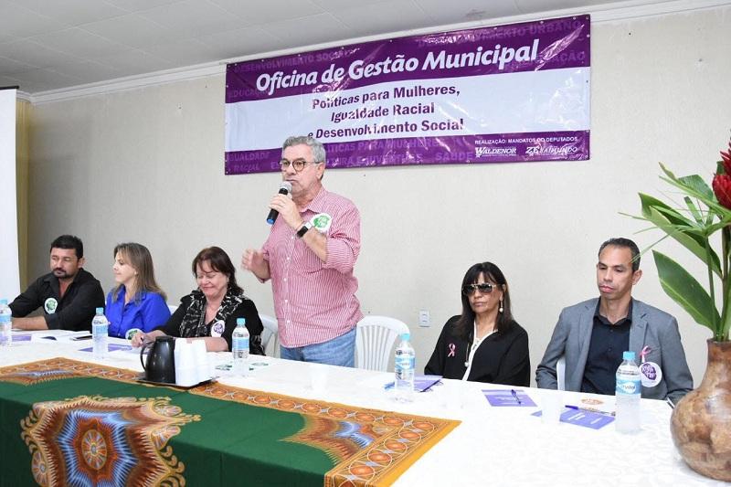 Conquista: Oficina sobre Desenvolvimento Social, Políticas para Mulheres e Igualdade Racial  reúne 31 municípios da região Sudoeste