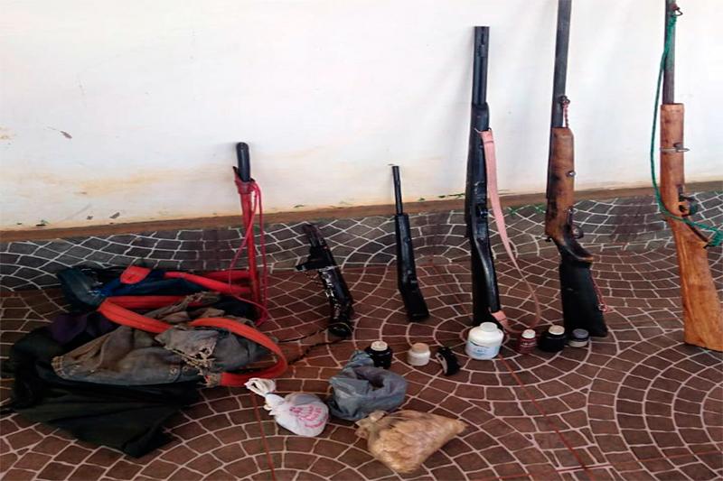 Guajeru: Polícia frustra tentativa de feminicídio; 5 armas foram apreendidas