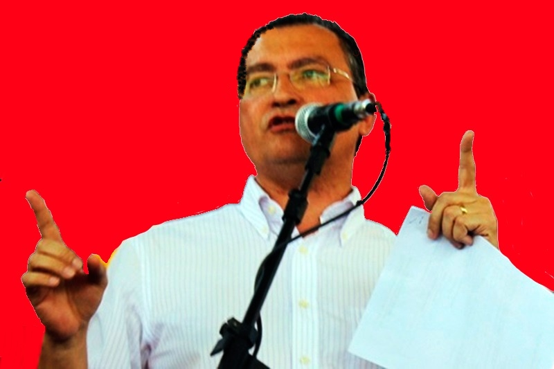 Movimento 'Vamos de Vermelho': Rui Costa deverá sofrer forte cobrança do grupo de situação em sua visita a Brumado hoje (20)