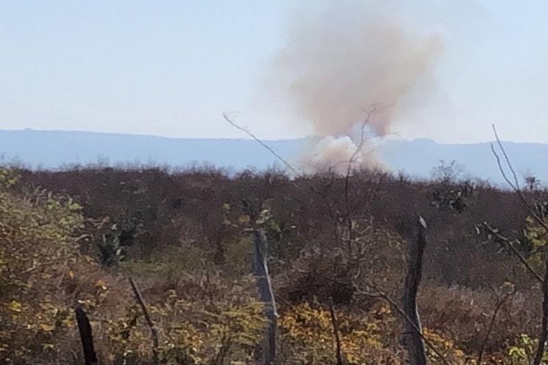 Novas chamas atingem Chapada Diamantina entre Mucugê e Lençóis