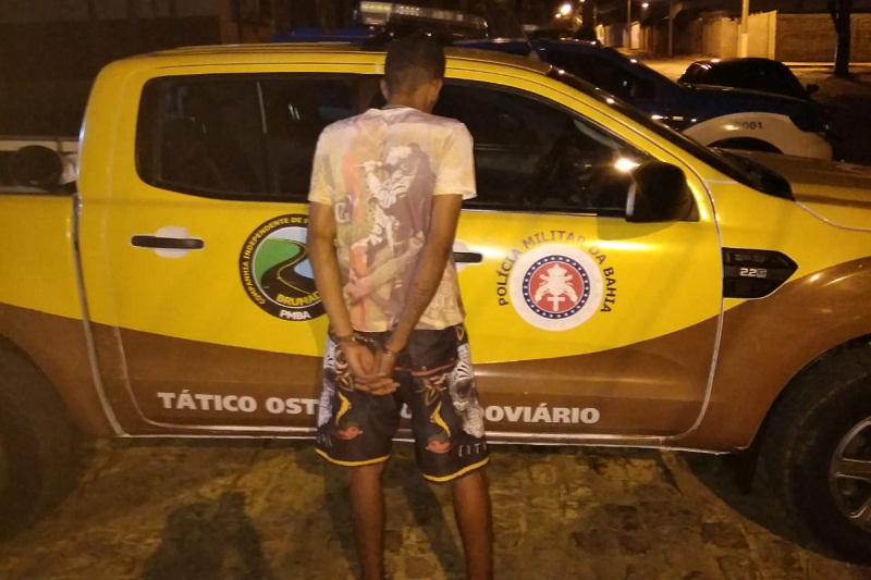 Brumado: PRE prende jovem recém-saído da cadeia por furtar moto em festa de cavalgada